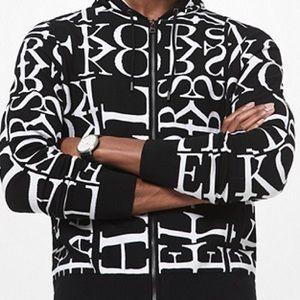 ❤️Michael Kors Men's News Print logo hoodie ❤️